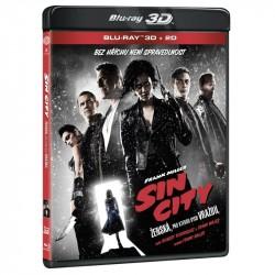 BluRay 3D Sin City: Ženská, pro kterou bych vraždil BD (3D+2D)