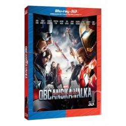 BluRay 3D Captain America: Občanská válka 2BD (3D+2D)
