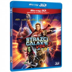 BluRay 3D Strážci Galaxie 2 - 2BD(3D+2D)
