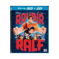 BluRay 3D Raubíř Ralf - 2BD 2D+3D