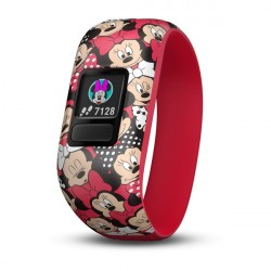 GARMIN Vívofit jr. 2 náramok fitness streč Minnie Mouse
