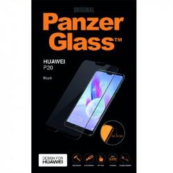 PanzerGlass Huawei P20 sklo ochranné čierna, Edge-to-Edge