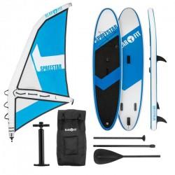 KLARFIT Spreestar WL paddleboard nafukovací SUP 325 sada modro-biela veľkosť L