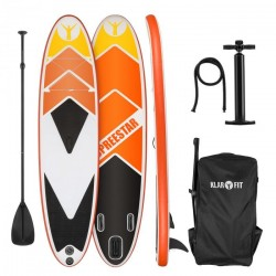 KLARFIT Spreestar 325 paddleboard nafukovací SUP 325 sada oranžový