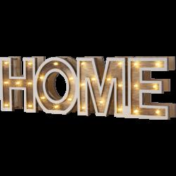 GLOBO HOME 29975 nápis dekoračný