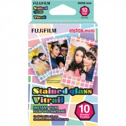 FUJIFILM INSTAX MINI STAINED 10ks