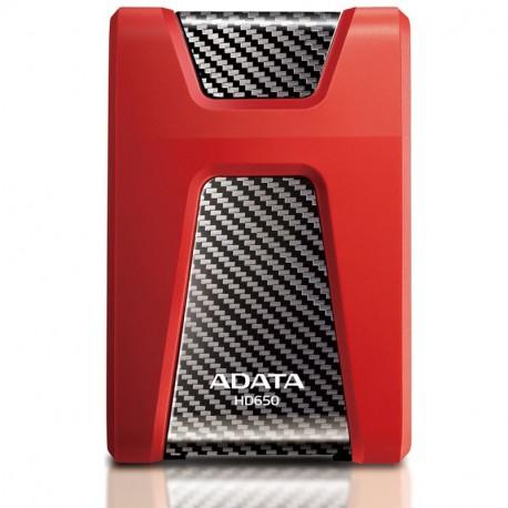 ADATA HD650 1TB USB Red harddisk