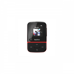 SanDisk Clip Sport GO 16 GB červená
