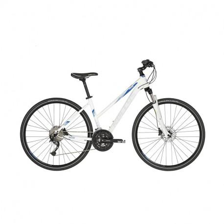 KELLYS PHEEBE 30 White S 2019 dámsky crossový bicykel