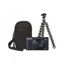 CANON POWERSHOT SX740 HS fotoap. digit. Travel Kit čierny
