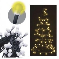 EMOS LED ZY1605T gule vianočné cherry teplá biela, časovač