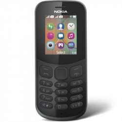 NOKIA 130 Dual Sim telefón mob. čierny