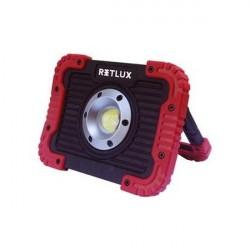 RETLUX RSL242 reflektor 10W prenosný 4xAA