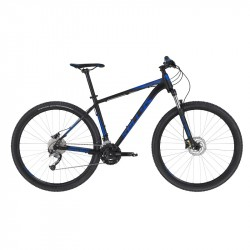 KELLYS SPIDER 50 Black Blue M 2020 29´´ horský bicykel