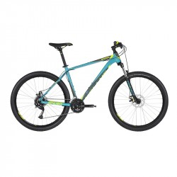 KELLYS SPIDER 10 Turquoise M 2019 27,5´´ horský bicykel