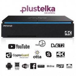 AMIKO A5 Plustelka T2/C/OTT (Android 7.1)