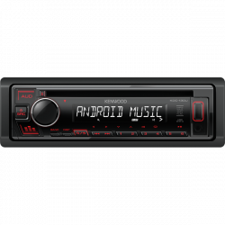 KENWOOD KDC130UR autorádio + CD červené podsv.