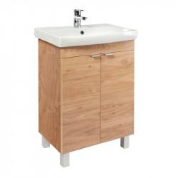 KFA FAN Nature 52 skrinka stojaca k umývadlu FAN 55 svetlé drevo Nature 1695213155