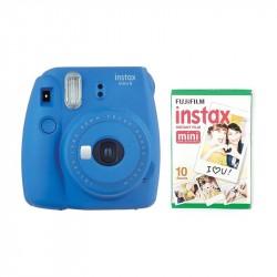FUJIFILM INSTAX MINI 9 + film 10 Cobalt Blue 70100141211