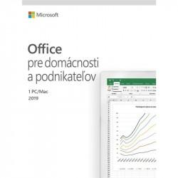 MS Office pre Podnikateľov 2019 SK