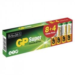 GP-15A R06 AA alk. /AKCIA GP Super 8+4ks