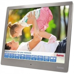 "HAMA 9,7"" Steel Premium 24,64cm Silver, Musik&Video"